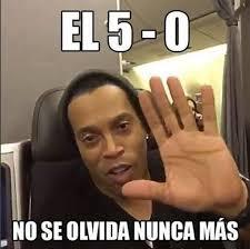 El Meme - el meme de ronaldinho recordando la goleada a emelec revista estadio