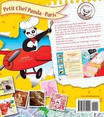 petit chef panda livre de cuisine pour enfant livre patisserie