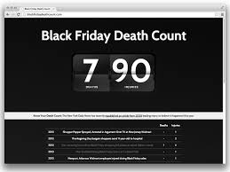 black friday count website is exactly as advertised ecouterre