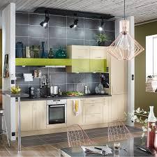 cuisines delinia meuble de cuisine blanc delinia ines leroy merlin