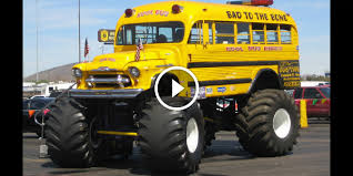 bus monster truck videos imagine your kids riding in this monster bus