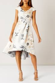 coast dresses lyst coast almina jacquard dress