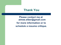 Free Online Resume Critique by Resume Workshop