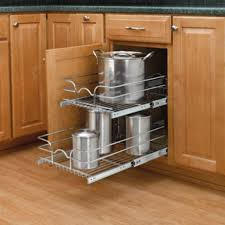 How To Make Pull Out Drawers In Kitchen Cabinets Installing Pull Out Shelves In Kitchen Cabinets Heartworkorg