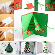 pop up christmas cards 3d pop up christmas tree card