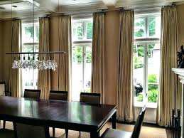 dining room drapery ideas window curtains for dining room jcemeralds co