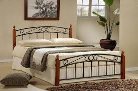 Wood And Metal Bed Frame Cleaning An Antique Rustic Metal Bed Frames Editeestrela Design