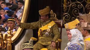 sultan hassanal bolkiah son sultan of bling brunei monarch marks golden jubilee in style