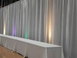 wedding backdrop lighting kit custom drapes and curtains wedding reception backdrop pipe and drape