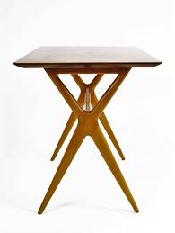 X Base Side Table X Base Side Table X Base Side Table By Renzo Rutili For Johnson