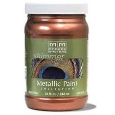 Exterior Metallic Paint - modern masters mm205 1 gallon antique copper matte metallic paint