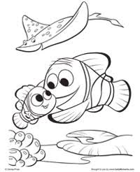 finding nemo coloring pages earlymoments