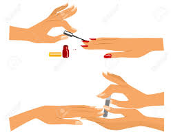 nail clipart manicure pencil and in color nail clipart manicure