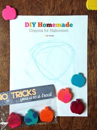 halloween crafts for kids to make free diy homemade crayons for halloween printable live simply