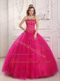fuchsia quinceanera dresses wholesale hot pink appliqued sweet sixteen quinceanera dresses 166 66
