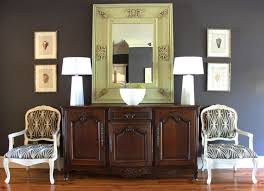 Sideboards Living Room How To Combine Sideboards With Wall Mirrors