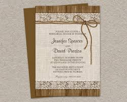 wedding rehearsal dinner invitations rustic rehearsal dinner invitation rustic wedding rehearsal