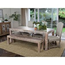 distressed wood table and chairs rustic long narrow dining table with skirt and square legs as well