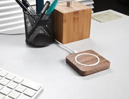 home tech gadgets qi wireless charging solid wooden pad by wasserstein gadget and