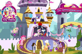 mlp wedding castle mlp royal wedding dress up royal wedding rarity by jennieoo