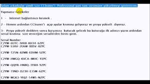 ccleaner serial key ccleaner professional yükseltme serial key 2017 youtube