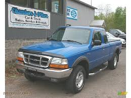2000 ford ranger extended cab 4x4 2000 ford ranger xlt supercab 4x4 in bright atlantic blue metallic
