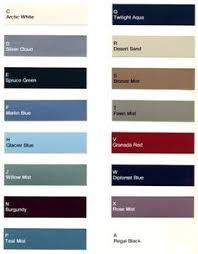 1969 canadian color chart chips codes paint u0027s pinterest