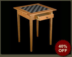 Library Tables For Sale Sale On Handcrafted Game Table Handmade Solid Wood Chess Or
