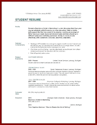 student resume sles skills and abilities college student resume sles no experience