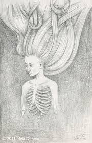 sketches of hair collection of surreal pencil sketches sketchblog of nela dunato