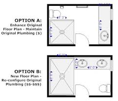 design bathroom floor plan 12 remodeling tips for your master bath retreat smartdraw