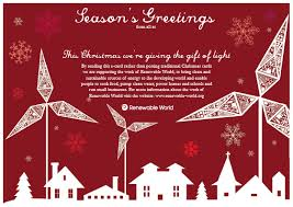 e cards christmas cards renewable world