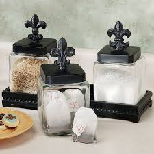 fleur de lis kitchen canisters fleur de lis for the kitchen or office fleur de lis