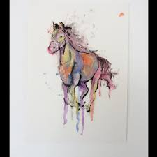 horse watercolor tattoo design best tattoo ideas gallery