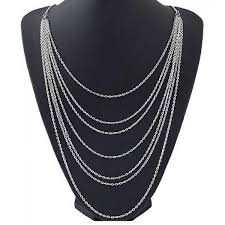 multi layered black necklace images Cheap multi layer necklaces for women jpg