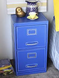 paint a file cabinet blue 5 revamp u2013 dollar store crafts