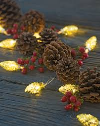 small string lights battery operated mini pinecone led string lights battery operated vintage style