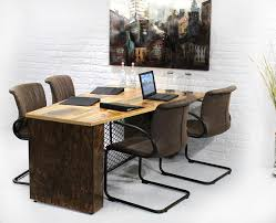 Wood Conference Table Industrial Conference Table Urban9 5 Urban 9 5