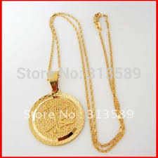 Name Chain Necklace Min Order 10 Free Shipping Yellow Gold Gp 24