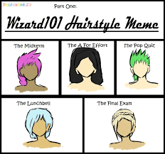 A For Effort Meme - w101 hairstyle meme by umbraqueen on deviantart