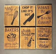 Home Decor Wooden Signs Fun Kitchen Wall Decor Kitchen Humor Kitchen Decor Wooden Sign