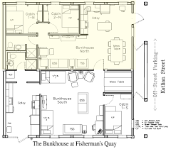 Bunkhouse Floor Plans by Fq Bunkhouse N Vacation Rental Home Sitkatravel Com