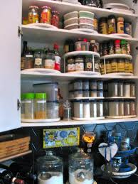 how to make a lazy susan pantry storage