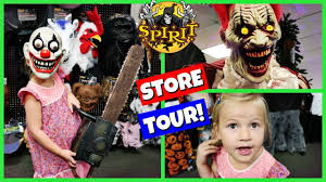 search halloween city spirit halloween store tour 2017 youtube