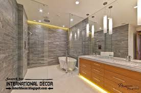 contemporary bathroom lighting ideas led lights for bathroom great home security concept or other led