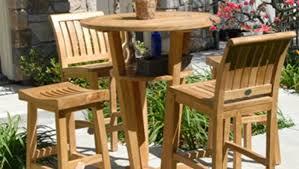 Tall Patio Tables Cool Teak Patio Furniture Denver Tags Teak Patio Set Patio Lawn