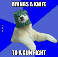 Polar Bear Meme - poorly prepared polar bear know your meme