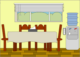 Dining Room Table Parts Diningroom Free Images At Clker Com Vector Clip Art Online