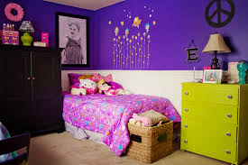 Purple Bedroom Designs For Girls Girls Bedroom Comely Bedroom Design Ideas With Neon Green