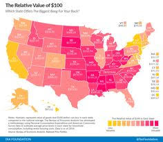 cheapest us states to live in us speed limits by state map infographic mappa mundi pinterest